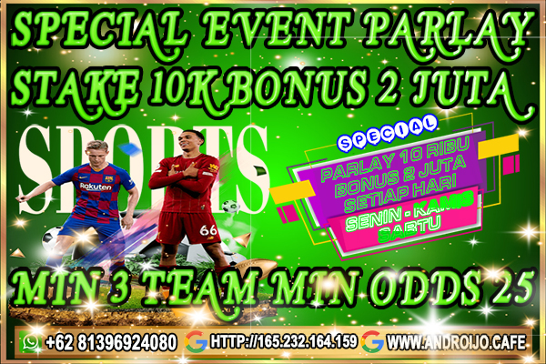 SPECIAL EVENT PARLAY ANDROID4D